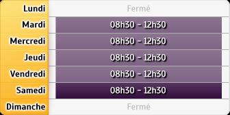 Horaires Société Générale Frejus Tour de Mare