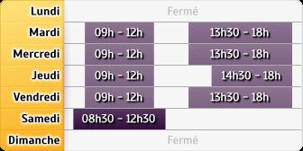 Horaires du Caisse d'Epargne Vermenton, 2, Ter Rue du General Leclerc