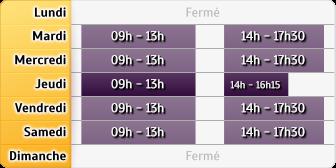 Horaires du Agence Fresnes, 16, ter-18-18 bis, rue Maurice Tenine