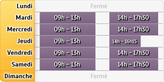 Horaires Agence Orly