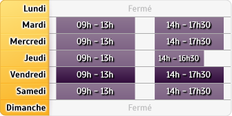 Horaires Agence Arnouville