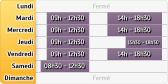 Horaires Agence le Mans le Ribay