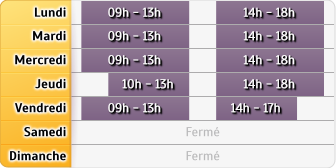 Horaires Agence Paris St Honore