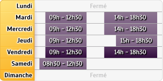 Horaires Agence le Mans Pontlieue