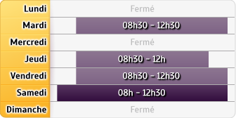 Horaires Agence Mont Blanc Les Contamines