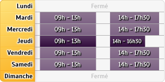 Horaires Agence Paris St Germain Bac