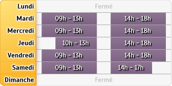Horaires Agence Dieppe