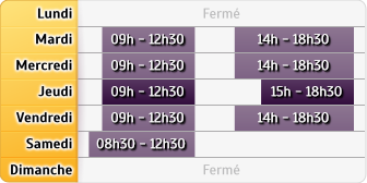 Horaires Agence Rennes St Jacques