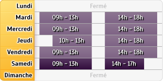 Horaires Agence Vernon