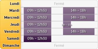 Horaires Agence Deauville Cm