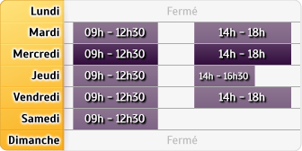 Horaires Agence Bayeux Cm