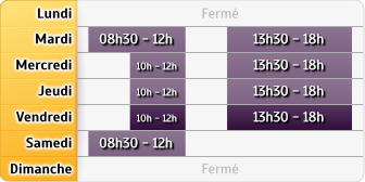 Horaires Credit Mutuel - Anneyron