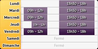 Horaires Credit Mutuel - La Chapelle-Saint-Luc