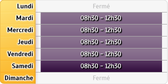 Horaires Groupama Carmaux