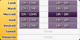 Horaires GMF Assurances - Dinan