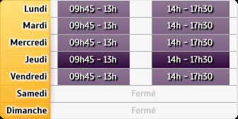Horaires GMF Assurances - Rennes de Lorient