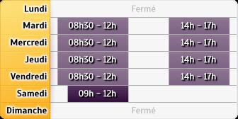 Horaires AXA Assurance EMMANUEL LEVIS - Avricourt