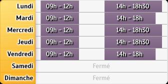 Horaires du AXA Assurance, 84 BOULEVARD DE LA REPUBLIQUE