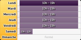 Horaires Crédit Foncier - Nanterre