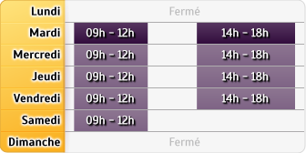 Horaires AXA Assurance DOMINIQUE JUNGBLUTH