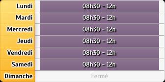 Horaires La Poste PARISOT AP - Castanet