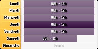 Horaires du La Poste Tampon Bras Creux, 191 Chemin Du Chalet