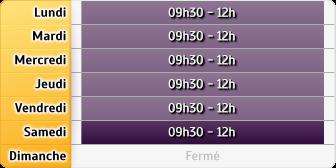 Horaires Crédit Foncier - Obernai
