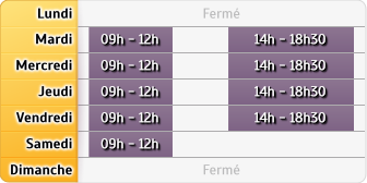 Horaires Mma Lapalisse