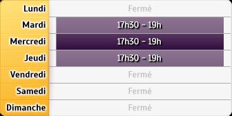 Horaires du Mma Saint Gilles, 10 PLACE DE LA REPUBLIQUE